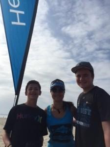 Ben Moody, Jenn Swart & Ian Sheets at Venice Pier