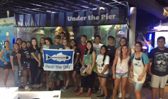 Club Heal the Bay Kick-Off Summit at the Santa Monica Pier Aquarium