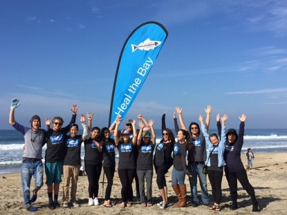 Beach Captains are trained volunteers who run Heal the Bay's Nothin' But Sand monthly beach cleanups