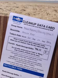 Nothin' but Sand monthly beach cleanups provide an opportunity fo rthe communty to collect valuable data on the trash their finding. This is community science at work!