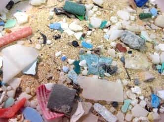 Microplastics Found in Sand. Photo: NOAA