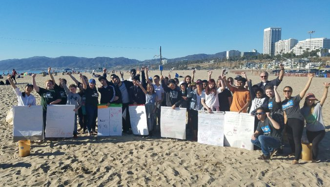 Groups from the greater LA area join for a day of fun and learning in Santa Monica