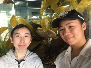 Mermaid Squad at the Santa Monica Pier Aquarium
